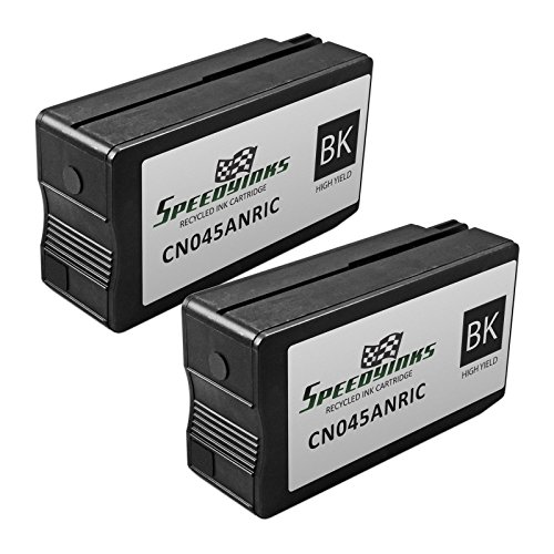 Speedy Inks - 2PK Remanufactured Replacement for HP 950XL CN045AN HY Black Ink Cartridge with Pigment Ink for use in OfficeJet Pro 251dw 276dw 8100 8600 8610 8620 8630