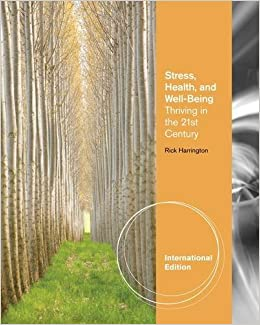 Book Stress, Health and Well-Being: Thriving in the 21st Century by Rick Harrington (2011-12-15)