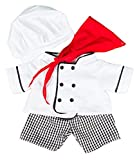 Chef Outfit Teddy Bear Clothes Fits Most