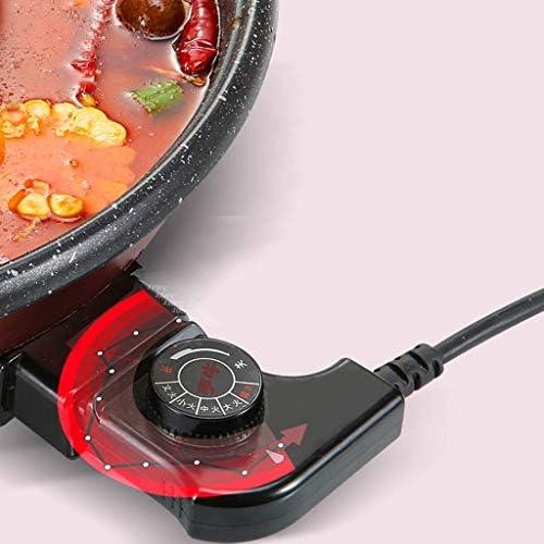 Multifonction grande capacité Barbecue Hot Pot monobloc Pot monobloc antiadhésif ménages Pot Barbecue commercial sans fumée HRSS