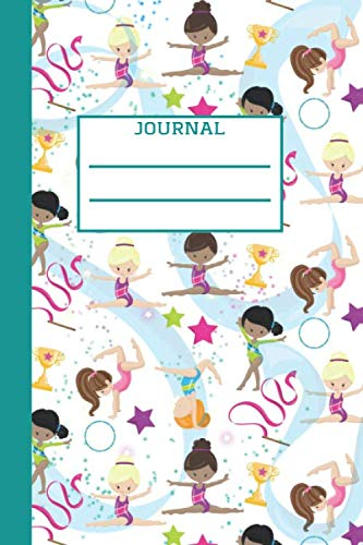 The best gymnast: Trendy Lined Notebook 6x9, 120 pages, Great for homework, doodles and everyday use, Perfect gift for little gymnasts and dancers.
