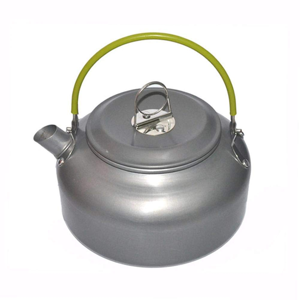Camping Kettle Portable Tea Kettle Coffee Pot Aluminum Outdoor Gear for Travel Hiking Climbing Picnic