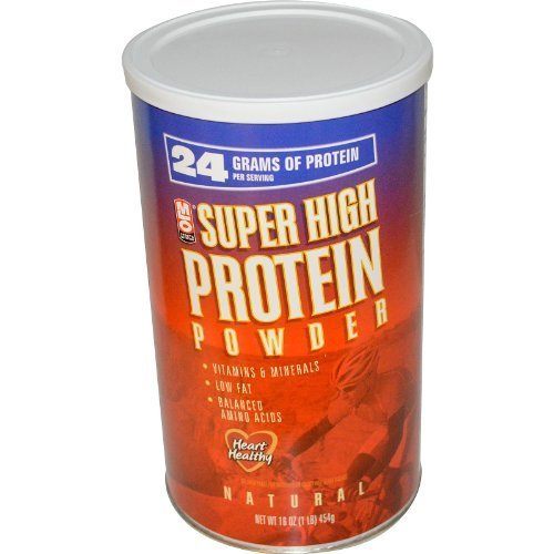 MLO Natural Super High Protein Powder 16 Oz 6 Pack by MLO by MLO