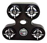 Froghead Industries Stereo for Honda Pioneer 1000 AMPHIB304CXLED Four Speaker Bluetooth AM/FM Stereo System With RGB LED Speakers