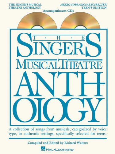 Singer's Musical Theatre Anthology Teen's Edition Mezzo/Alto/Belter CDs Only