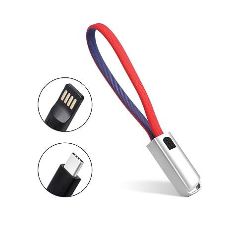 AIEVE - Cable de Carga Micro USB C, Cargador de Llavero ...