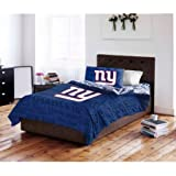 NFL New York Giants Bed in a Bag Complete Bedding Set, Twin #27942679