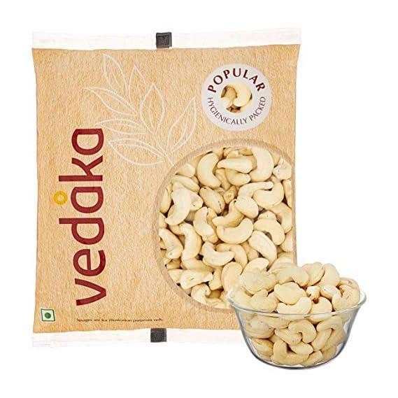 Amazon Brand - Vedaka Popular Whole Cashews, 500g