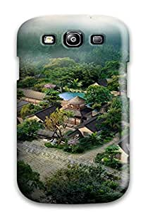 Hot New Style Hard Case Cover For Galaxy S3- Japanese Architecture
