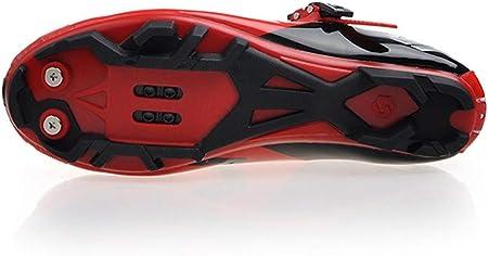 SIDEBIKE Zapatillas de Ciclismo para Adultos, Zapatillas de Bicicleta de Montaña Resistente al Viento Transpirable con Plantilla de Amortiguación
