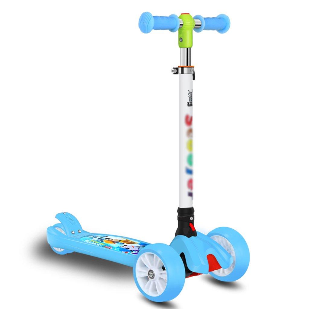 大きな割引 折りたたみ式スクーター多機能子供の学生リフティングスイングカーヨーヨーおもちゃのフラッシュホイール5-15歳 B07FYM8ZNQ B07FYM8ZNQ Blue Blue, タマヤマムラ:051410fa --- a0267596.xsph.ru