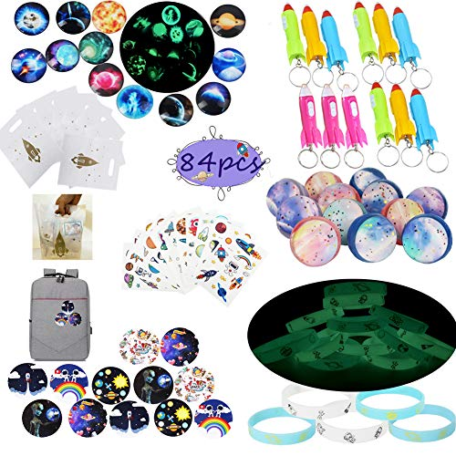 Outer Space Party Favors Supplies,Tattoo Sticker Bouncy