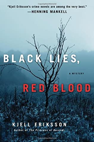 book cover of Black Lies, Red Blood
