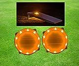 10 LED Corn hole Lights (Orange)
