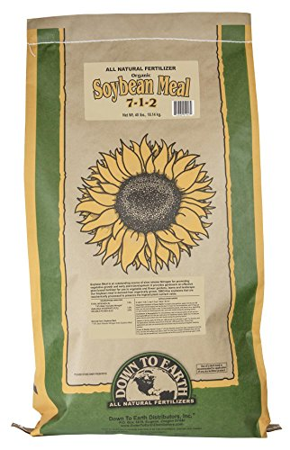 Down To Earth All Natural Fertilizers 01947OG Organic Soybean Meal-40 lb, 40 Pound