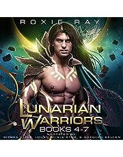 Lunarian Warriors Books 4-7: A SciFi Alien Romance (Lunarian Warriors Bundle, Book 2)