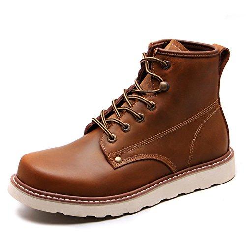 Chaussures Décontractées Pour Hommes Alpinisme Automne Extérieur Bottes Confortables Glisser Sur Brun-noir-e Longueur Du Pied = 39eu