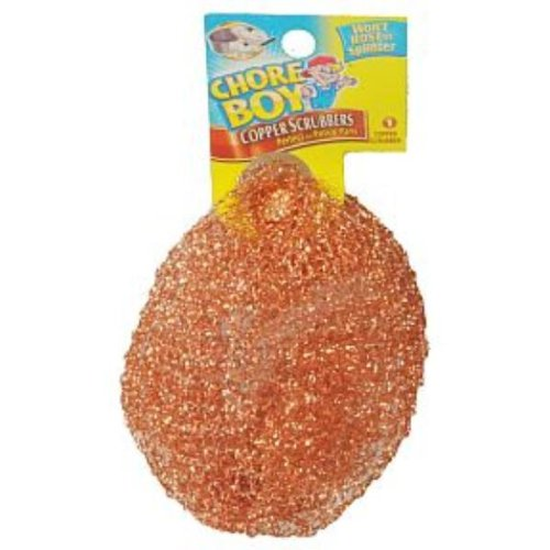 Chore Boy Copper Scrubber Case Pack 36 , Automotive, tool & industrial , Office maintenance, janitorial & lunchroom , Cleaning supplies , Scrubbers & sponges