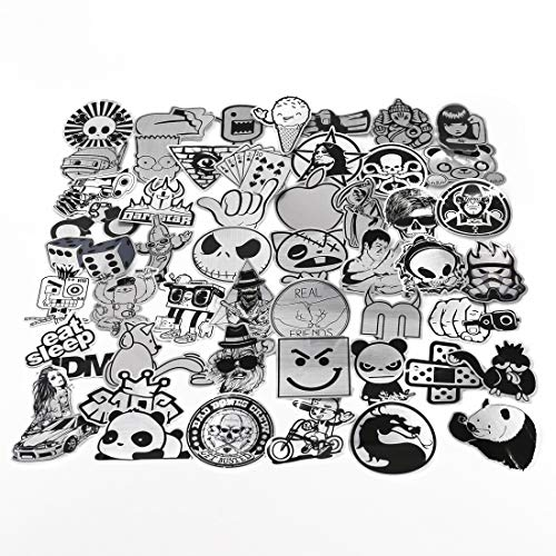 UTSAUTO Graffiti Stickers Decals Pack of 50 pcs Car Stickers Motorcycle Bicycle Skateboard Luggage Phone Pad Laptop Stickers And Bumper Patches Decals Waterproof (Type 4)