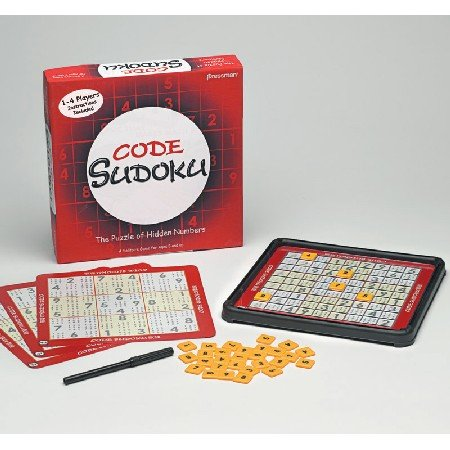 Pressman Toy 5207 06A Code Sudoku product image