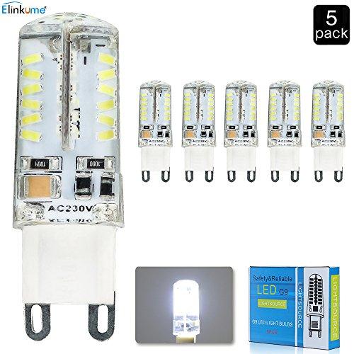 pass elinkume g9 3 5w dimmbare led gl hbirne 30w halogen light bulb ersatz. Black Bedroom Furniture Sets. Home Design Ideas