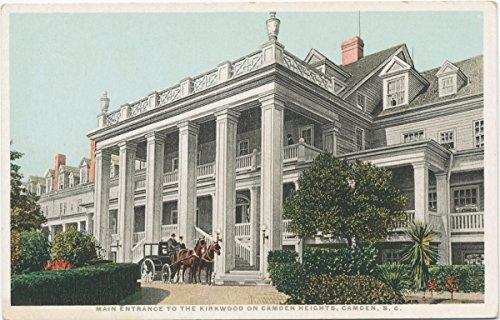 Historic Pictoric Postcard Print | Main Entrance to the Kirkwood on Camden Heights, Camden, S. C, 1898 | Vintage Fine Art