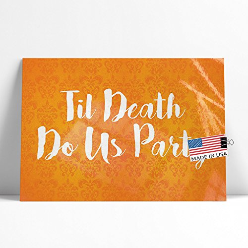 NEONBLOND Large Poster Til Death Do Us Party