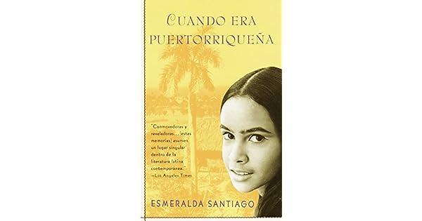 Amazon.com: Cuando Era Puertorriqueña (Spanish Edition ...
