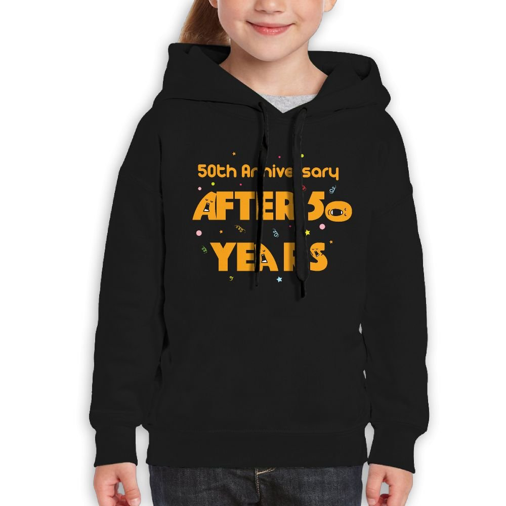 RWEA 50TH Anniversary After 50 Years Teenage Girls Classic Print Hoodie Design