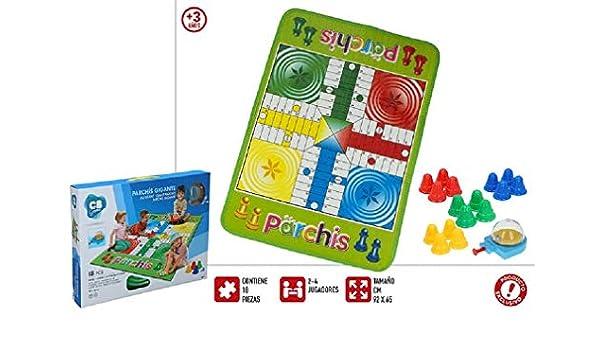 ColorBaby Juego de Mesa parchís Gigante Medidas 43 x 6.5 x 32.5 cm: Amazon.es: Juguetes y juegos