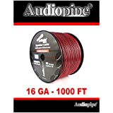 Audiopipe 1000 Feet 16 GA Gauge Red Black 2 Conductor Speaker Wire Audio Cable