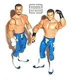 WWF WWE Wrestling Epico & Primo Tag Team 6'' Mattel Series Figure Rare