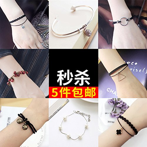 Student academic friendship bracelet ornament boyfriend design cheap high school students graduate with a lovely personality