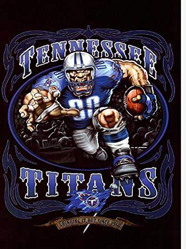 DIY 5D Diamond Painting Kits for Adults Beginner Gift for NFL Tennessee Titans Team Home Wall Decor 11.8x15.8 in (Nfl Cross Stitch)