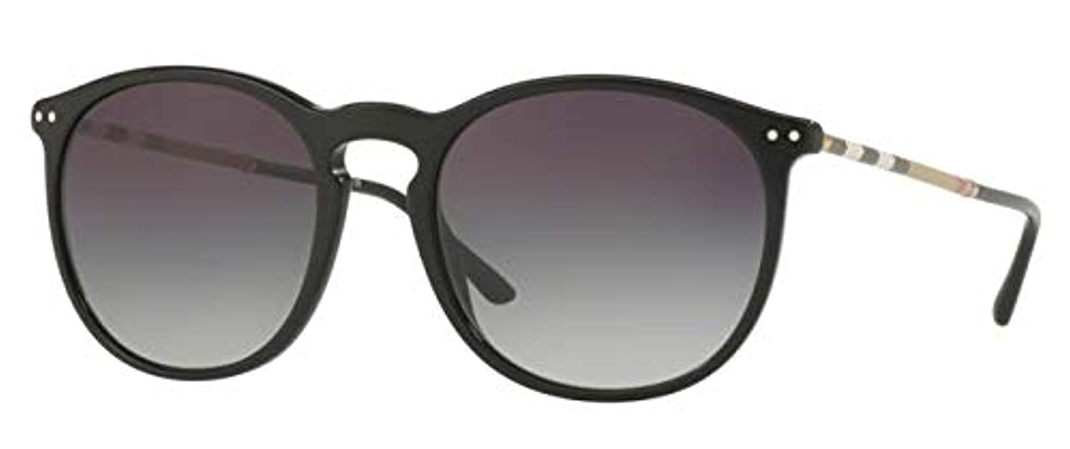 0ee5d8358a1b Burberry Men s BE4250QF Sunglasses Black Gray Gradient 54mm at Amazon Men s  Clothing store