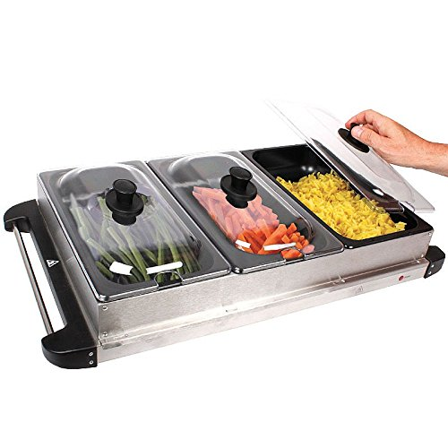 Buffet Roast Dinner Vegetable Hot Plate Warmer Amazon.co.uk Kitchen u0026 Home  sc 1 st  Amazon UK & Buffet Roast Dinner Vegetable Hot Plate Warmer: Amazon.co.uk ...