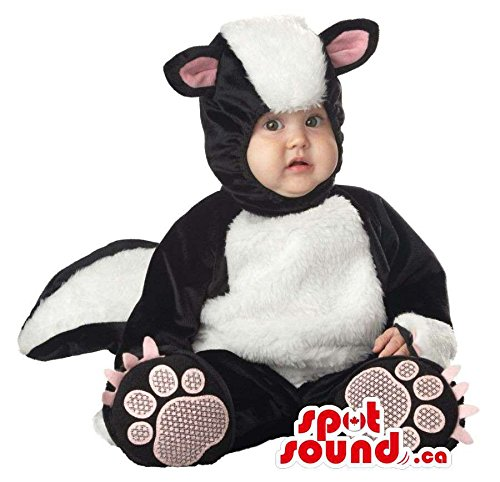 Cute Skunk Costumes - Very Cute Skunk Forest Animal Toddler Size Plush Costume