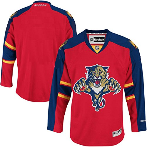 Florida Panthers NHL Youth Premier Stitched Team Jersey Red – DiZiSports Store