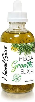 Natural Hair Growth Oil Elixir : Handmade Natural Hair Growth Serum