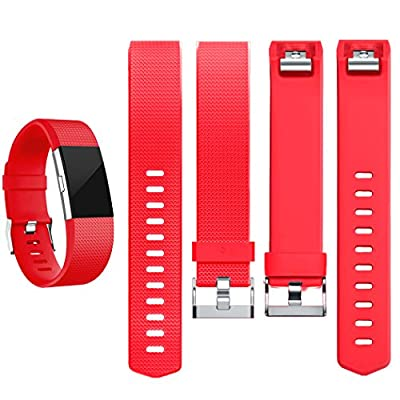 Geak Fitbit Charge 2 Bands, Replacement Accessories Bands for Fitbit Charge 2, Large Small 12 different colors
