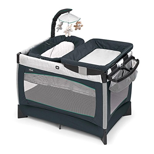 Chicco Lullaby Baby Playard- Empire, Gray