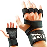 Cross Training Gloves with Wrist Support for WODs, Gym Workout, Weightlifting & Fitness-Extra Padding against Calluses for Men & Women - Best Weight Lifting Gloves for a Strong Grip, Pair
