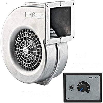 La Industria ventiladores 125 – 60 con 5 A Regulador de velocidad ...