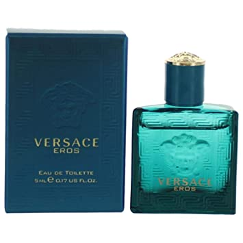Mini In De Box.Amazon Com Versace Eros By Versace 0 17 Oz 5 Ml Edt Splash Men