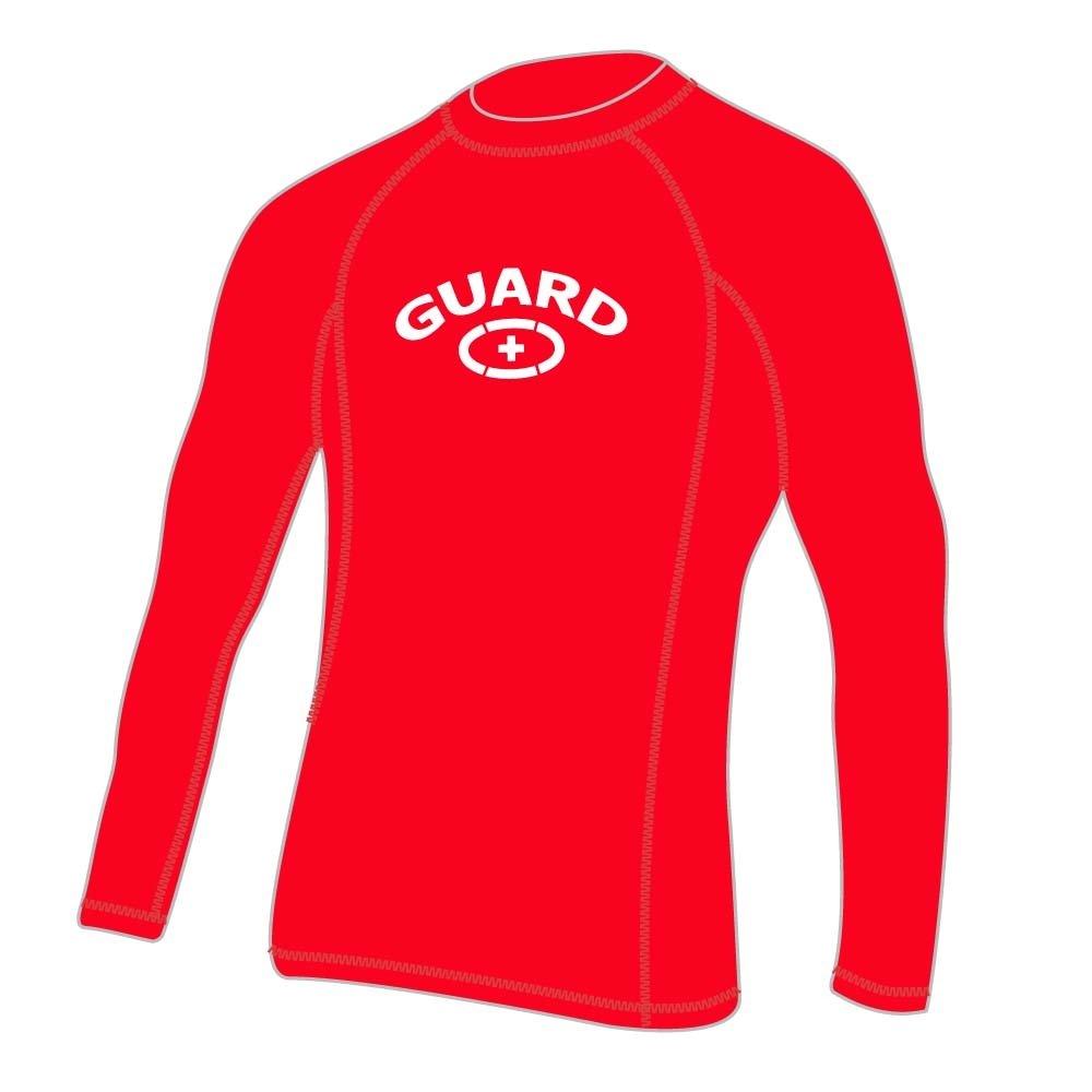 b58079d90f De los hombres Lifeguard Rashguard Natación de manga larga camisa   Amazon.com.mx  Deportes y Aire Libre