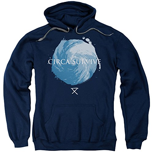Circa Print Sweatshirt - Circa Survive - Storm - Adult Hoodie Sweatshirt - Large