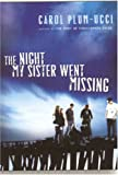 The Night My Sister Went Missing, Carol Plum-Ucci, 0152061916