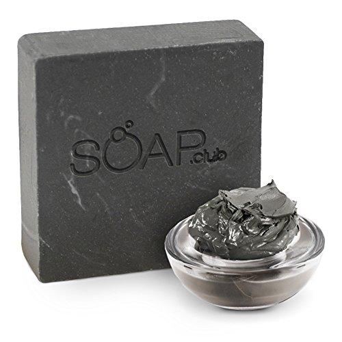 Natural Dead Sea Mud Soap Bar [5 oz] – Vegan & Sulfate Free w/Organic Coconut Oil, Olive Oil, Hemp Oil, Shea Butter & Essential Oil – Ideal for Psoriasis, Sensitive & Dry Skin, Acne, Rosacea & Eczema