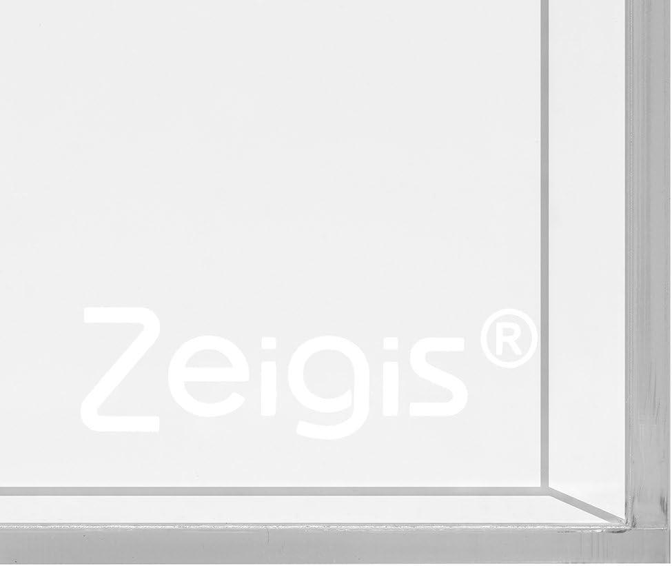 Zeigis/® Losbox en verre acrylique 200 x 200 x 200 mm avec plaque sup/érieure Transparent Acrylique Plexiglas