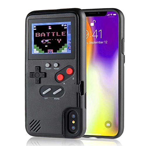 - Goglor Gameboy Case for iPhone,Retro 3D Gameboy Design with 36 Small Games,Game Console iPhone Case,Color Screen,Silicone Cover Case for iPhone X/XS/XR/Xs MAX,iPhone 6/7/8,iPhone 6Plus/7Plus/8Plus